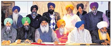 SAD Amritsar Mann leadership addressing the media persons [File Photo]