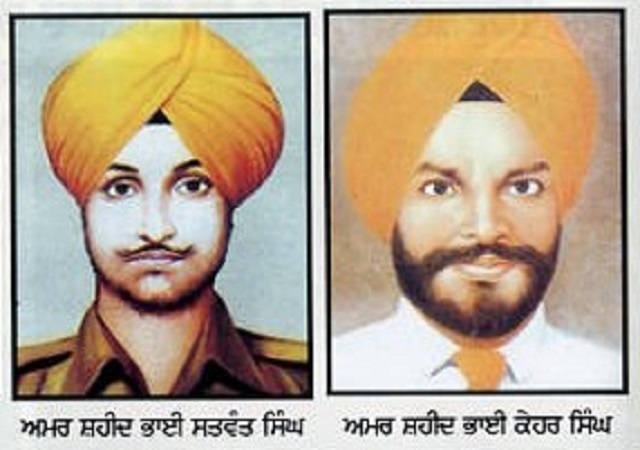 Image result for bhai satwant singh