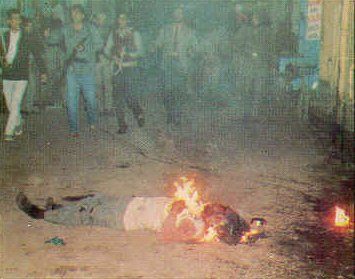 File Photo: Sikhs were burnt alive during 1984 Sikh Genocide