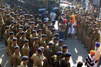 Sikhs arrested at Uttrakhand border on November 28, 2012