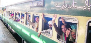 More than 2000 Sikh yaris left Nankana Sahib in 3 special trains