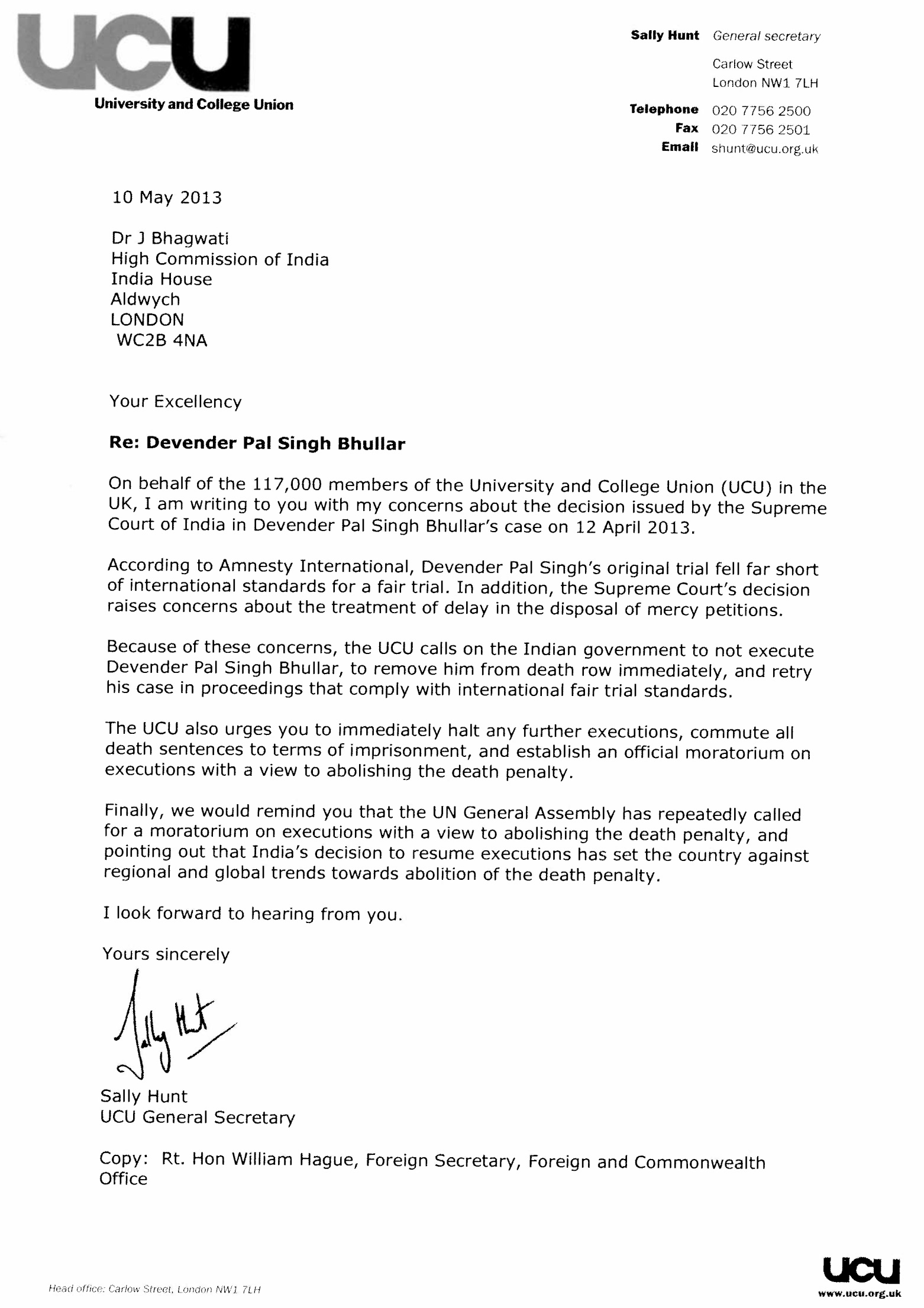 university letter informatin for letter university and college union ucu letter to n high